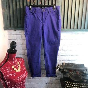 Rock & Republic Royal Blue Hamburg Jeans size 10